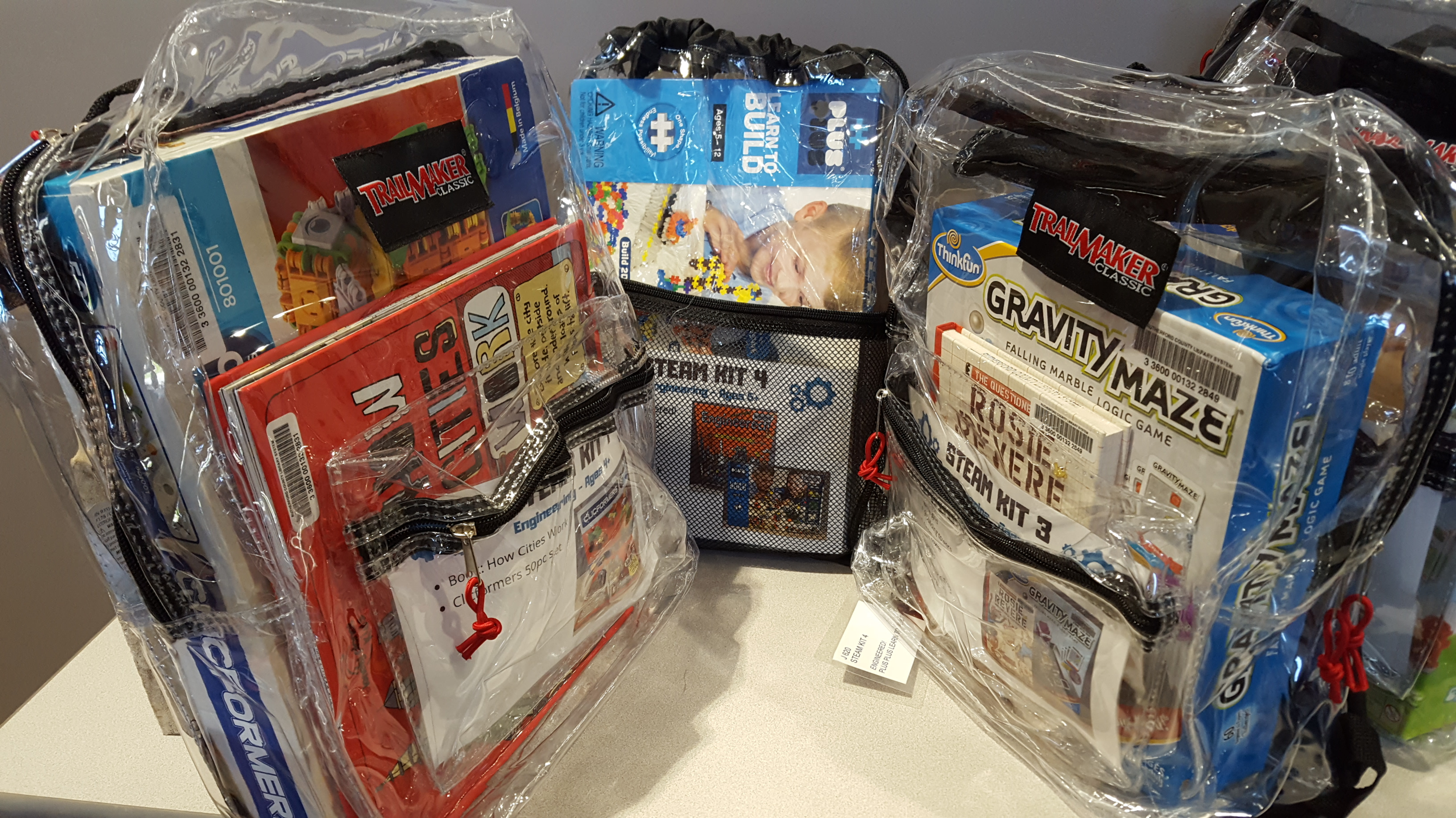 STEAM Kits now available to check out at the Technology Engagement Center