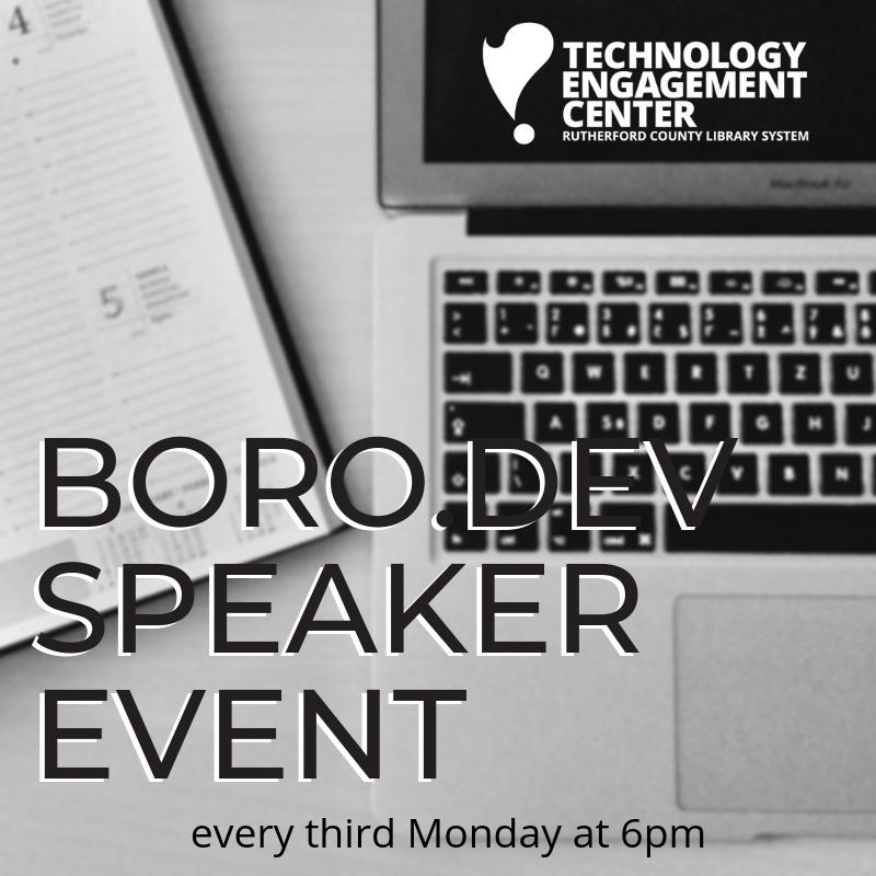 Boro.Dev Speaker Event