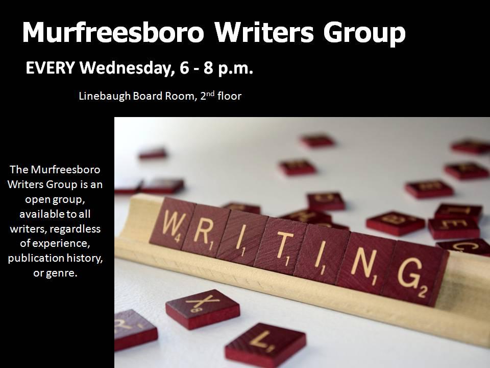 Murfreesboro Writers Group @ Linebaugh