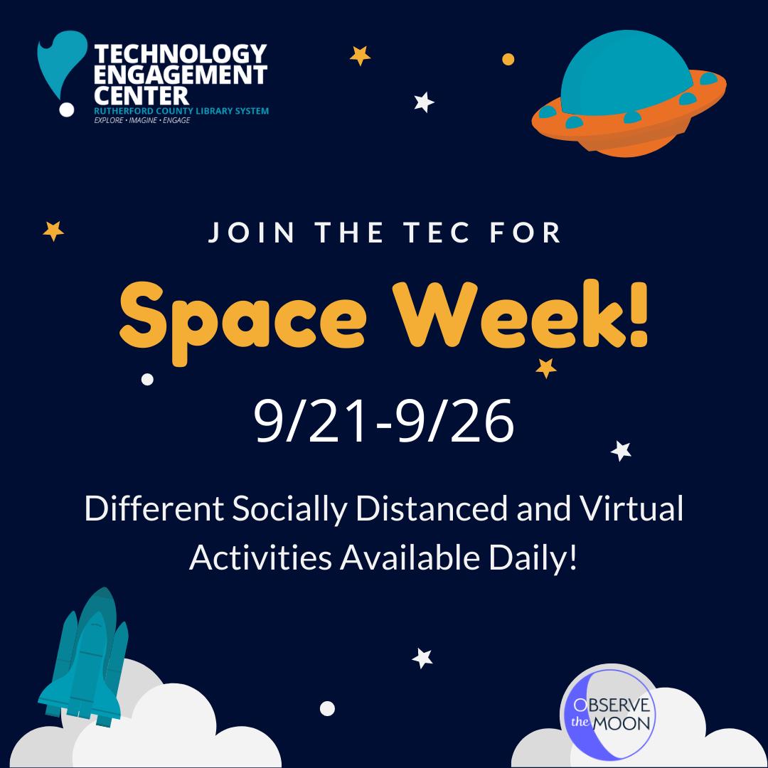 Space Week at the TEC