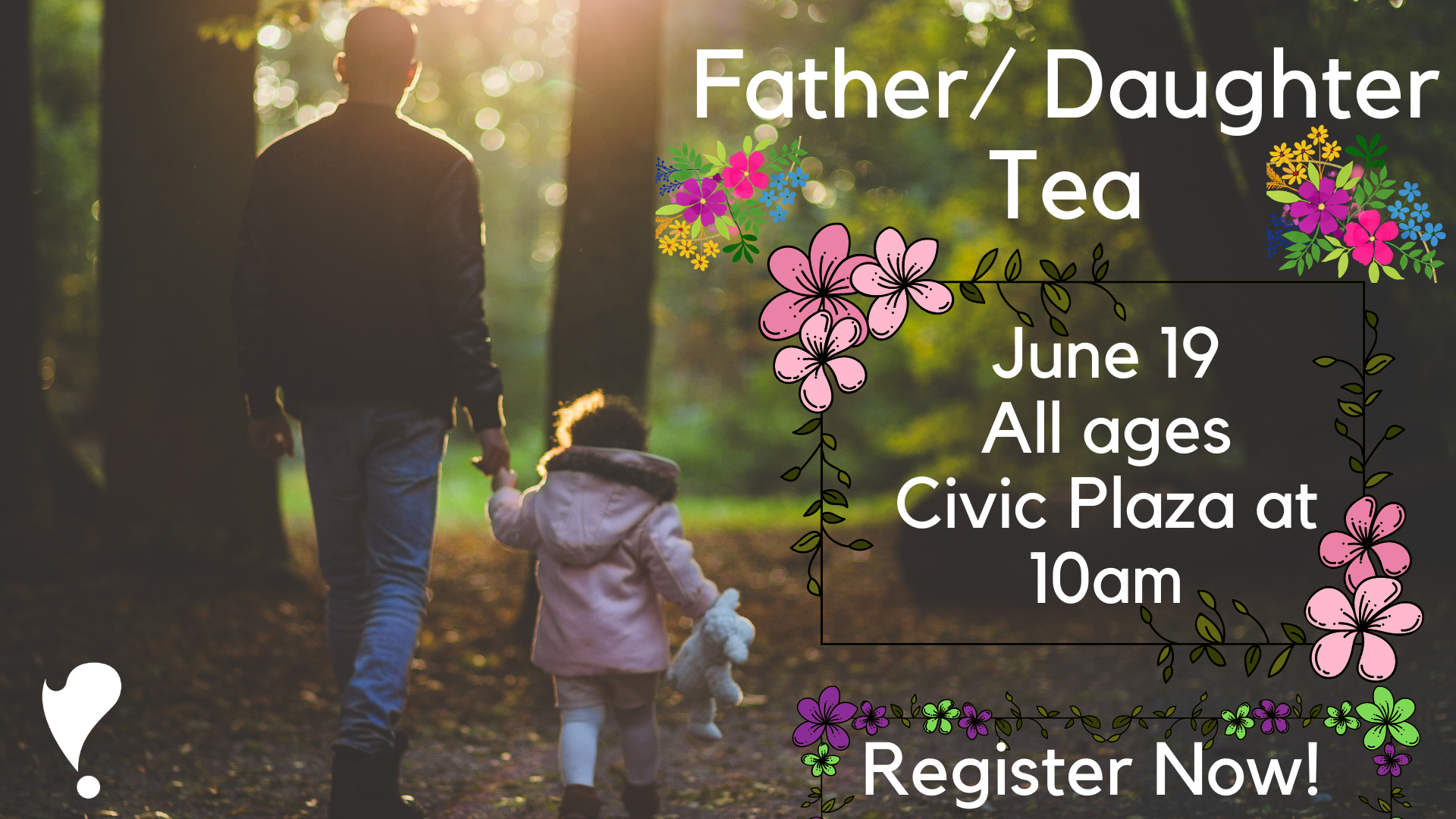Father and Daughter Tea @ Linebaugh | Rutherford County Library System